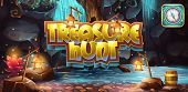 foto of treasure chest  - Horizontal banner icon to the computer game treasure hunt - JPG