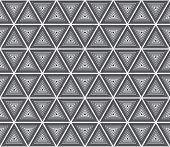 pic of grayscale  - Seamless geometrical pattern - JPG
