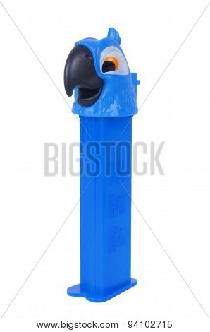 Blue Pez Dispenser From The Movie Rio