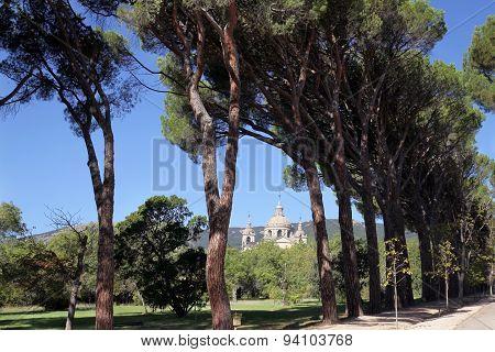 View Of El Escorial