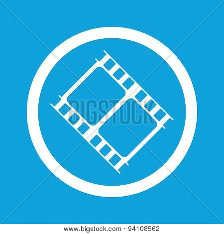 Movie sign icon