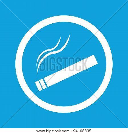 Smoking sign icon