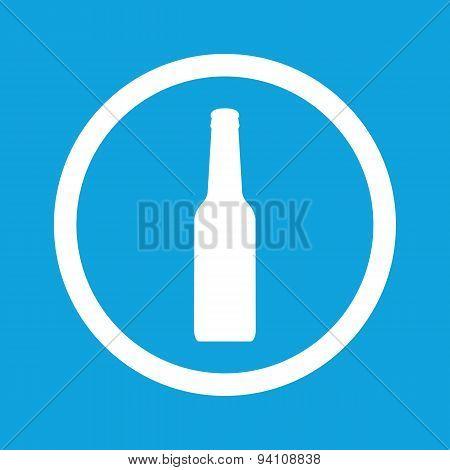 Bottle sign icon