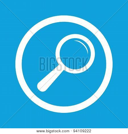 Search sign icon