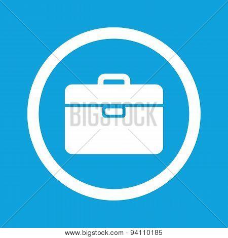 Briefcase sign icon