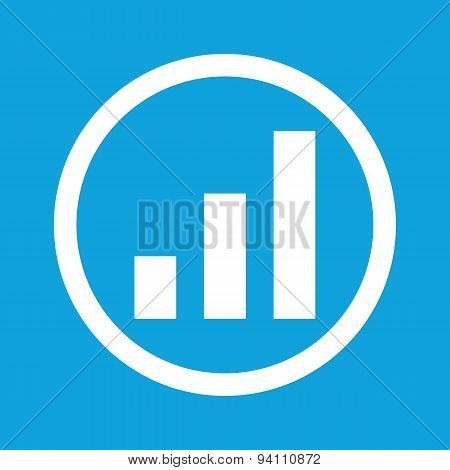 Volume scale sign icon