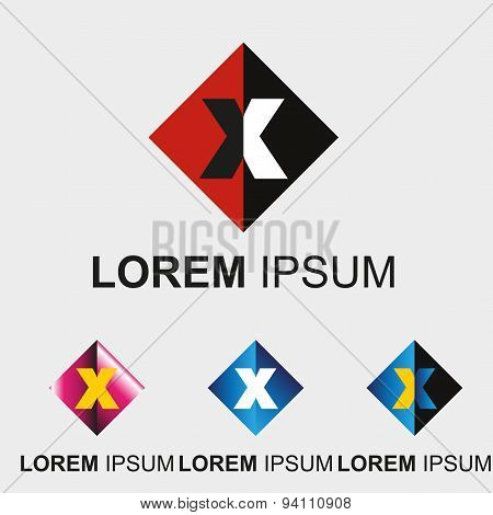 Letter X logo
