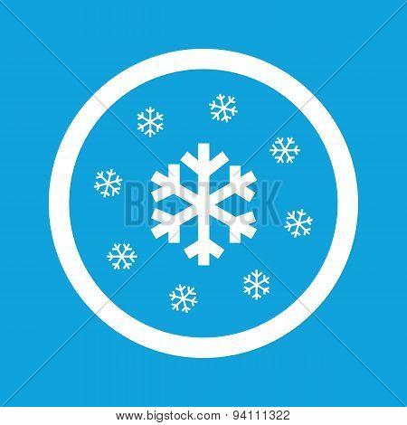 Snowflakes sign icon