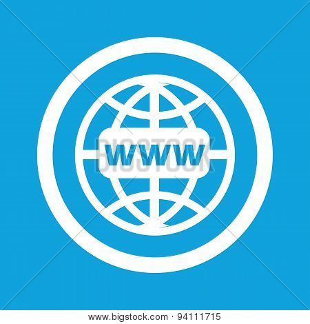 Global network sign icon