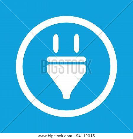 Plug sign icon