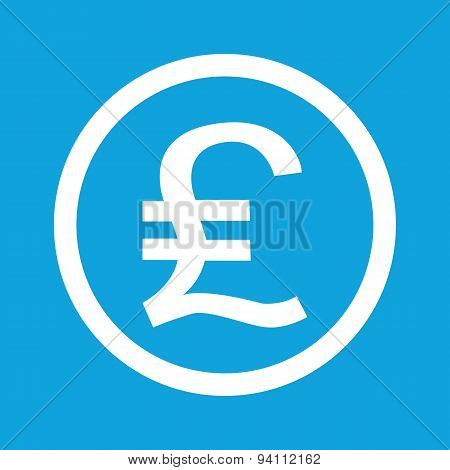 Pound sterling sign icon