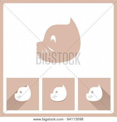 Cat Head Icons