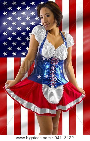 4th of July Pinup Girls