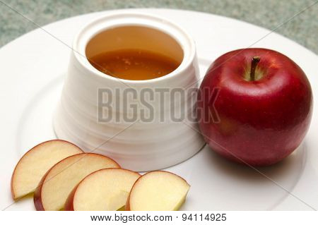 Jewish New Year - Apple In Honey - Rosh Hashanah