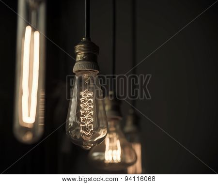 Hanged  Decoration Light Bulbs
