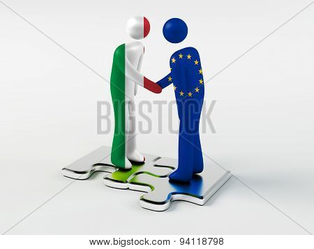 Business Partners Italy and European Union