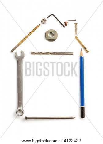 engineering concept isolated on white background
