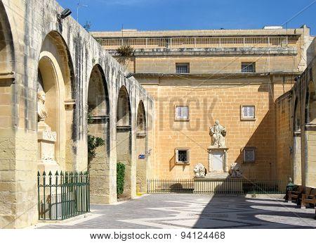 Barrakka Gardens in Valletta, Malta