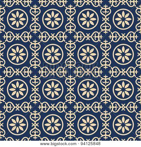 Bicolor vintage pattern