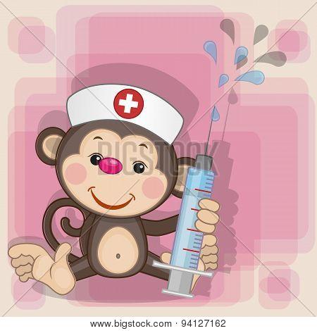 Monkey Nurse