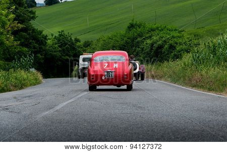 old car FIAT 1100 103 TV Coupé Vignale 1954mille miglia 2015