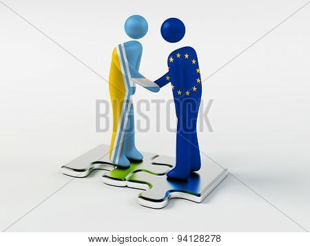 Business Partners Tyva and European Union