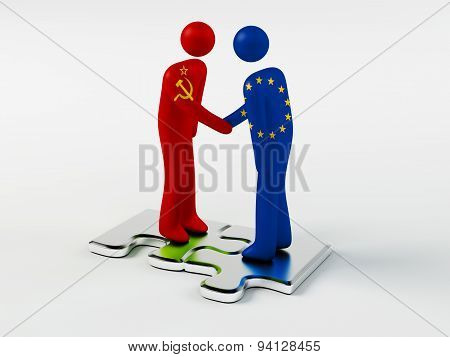 Business Partners USSR and European Union