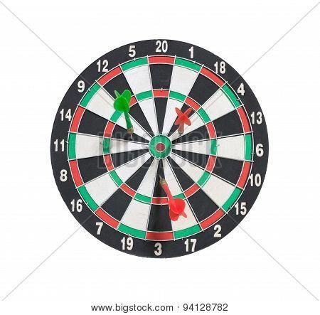 Dartboard And Arrows