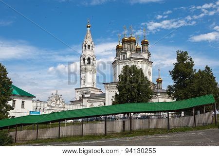 Trinity Cathedral. Verkhoturye. Russia.