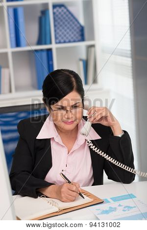 Busy Business Lady