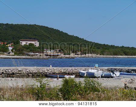 Kraj on the Croatian island Pasman