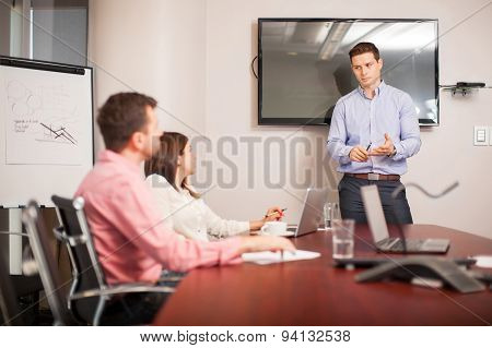 Giving A Business Presentation