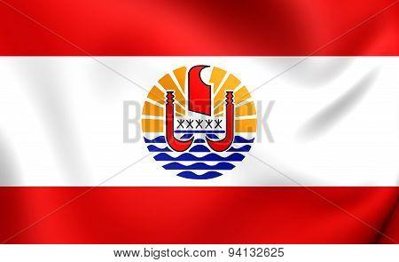 Flag Of The French Polynesia