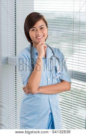 Young Vietnamese Physician