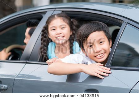 Children In The Car