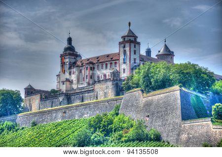 Marienberg Fortress (castle), Wurzburg, Bayern, Germany