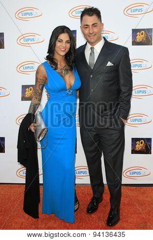 LOS ANGELES - JUN 6:  Elena DeSantis, Dennis DeSantis at the Lupus LA Orange Ball  at the Fox Studios on June 6, 2015 in Century City, CA