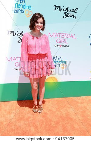 LOS ANGELES - JUN 14:  Lucy Hale at the Children Mending Heart's 7th Annual Empathy Rocks Fundraiser at the Private Location on June 14, 2015 in Malibu, CA