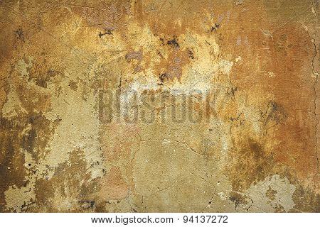 Old damaged grunge wall
