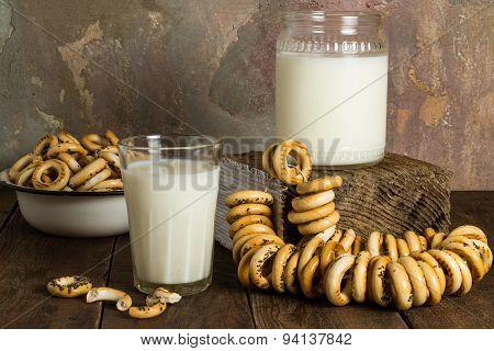 Breakfast In The Vintage Rustic Style