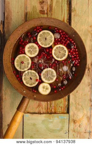 Cranberry Lemon Punch