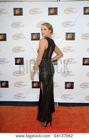 LOS ANGELES - JUN 6:  Kristen Renton at the Lupus LA Orange Ball  at the Fox Studios on June 6, 2015 in Century City, CA