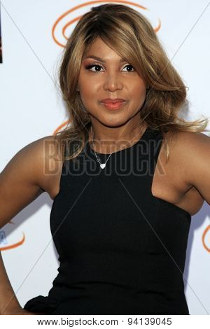 LOS ANGELES - JUN 6:  Toni Braxton at the Lupus LA Orange Ball  at the Fox Studios on June 6, 2015 in Century City, CA