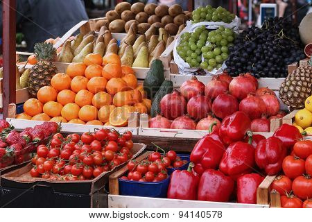 Fresh Market Stall