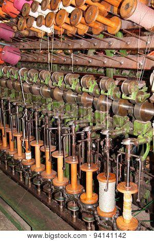 Vintage Textile Machine.
