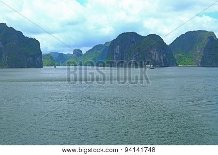 Cat Ba And Cat Ca Rock Formations
