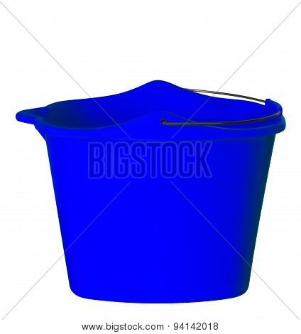 Plastic Bucket - Dark Blue