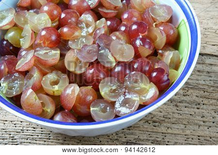 Grape Wine, Grape Fruit, Alcoholic Fermentation