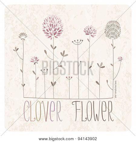 Clover Flower Meadow