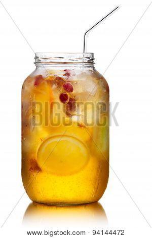 Spritzer (schorle) Soft Drink Jar